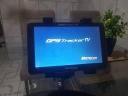 "GPS Multilaser Tracker 7"", c/ TV digital, acc Picpay"