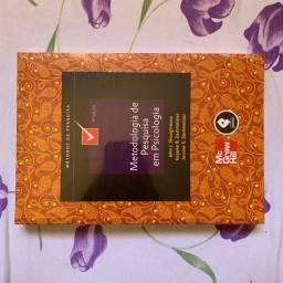 Livro METODOLOGIA DE PESQUISA EM PSICOLOGIA, 9ª edição