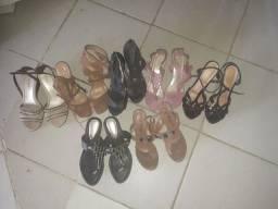 Vendo ou troco 7 lindas sandálias