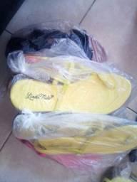 Promoçao kit sandália 15 cada novas