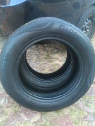 2 pneus 175/65 r14 continental *aceito cartão