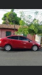 New Ford Fiesta sedan