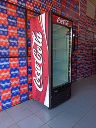 Geladeira expositora Imbera Coca Cola