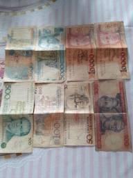 Dinheiro antigo pra coleccionador