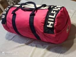 Bolsa Tommy Hilfinger Modelo Grande Rosa para academia etc frete grátis