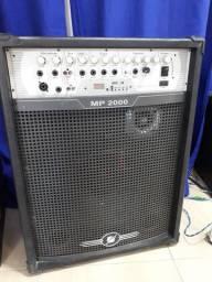 Caixa de Som Amplificada Frahm MP-2000. V/T