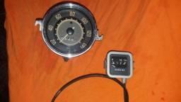 Velocímetro e marcador de combustível original vw fusca