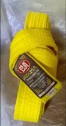 Faixa amarela para judô artes marciais