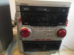 Rádio carrocel pra 3 cds