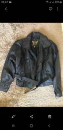 100 reais jaqueta feminina couro