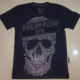 Camisa philipp plein com pedrinhas