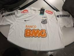 Camisa do Santos do Neymar Tri da Libertadores