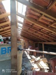 Trabalho com telhado e reforma