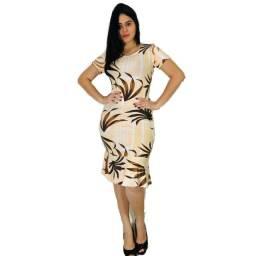 Vestido Moda Evangelica Liso Kit 10 Peças - Atacado