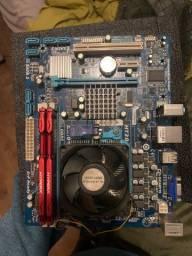 Kit / processador, memória, placa mãe