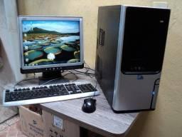 Título do anúncio:  Intel® Core 2 Duo E7500  2.93GHz + Monitor