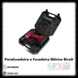 Kit maleta com parufusadeira com retirada no aririzal