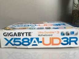 Título do anúncio: Placa Mãe Gigabyte Ultra Durable 3 X58A-UD3R