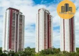 Título do anúncio: Apartamento em Patamares, Greenville Ludco, 180m², Ventilado, Varanda Ampla, 3 vagas