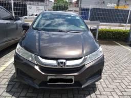Honda City 1.5 LX 16V Flex 4P Automático Marrom 2015!
