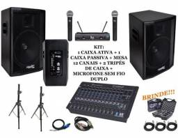 Aluguel de equipamento de som