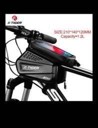 X-Tiger Bolsa de bicicleta resistente à chuva, bolsa de mountain bike