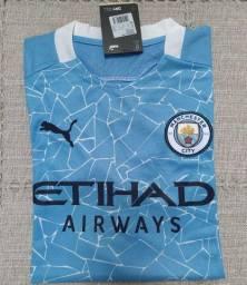 Camisa Manchester City Puma 2021 Original Importada Entrego
