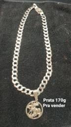 Cordão de prata 170g