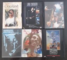 DVD's dos mais variados cantores