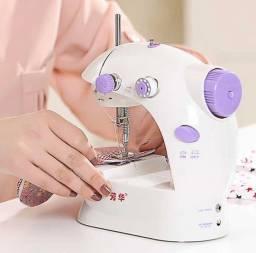 Mini máquina de costura doméstica
