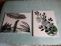 Vendo quadros pintado a mao