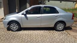 Etios XS Completo 2014 - manual, nota fiscal e chave reserva