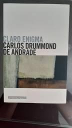 Livro Usado Claro Enigma de Carlos Drummond de Andrade