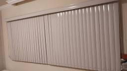 Persiana Vertical PVC com Bandô (Barbacena)
