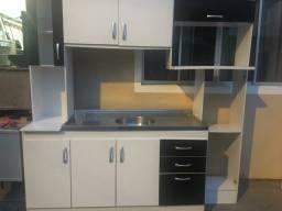 Cozinha compacta $480 Sem cuba usada entrego+taxa