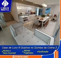 Casa com 05 suítes no Condomínio Quintas da Colina 2 à Venda em Caruaru/PE