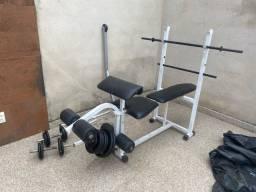 Vendo estação  de musculação