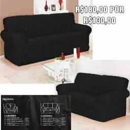 Promoção de jogos de capa para sofá de 180 por 130 reais