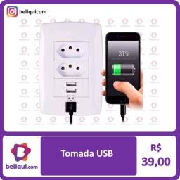 Interruptor com Tomada USB