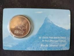 Título do anúncio: Moeda Comemorativa Jogos Pan-Amerisanos 2007