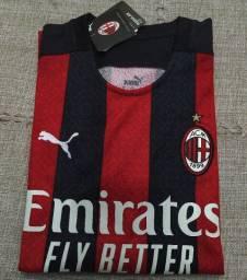 Camisa Milan Puma Modelo 2021 Original Importada Entrego