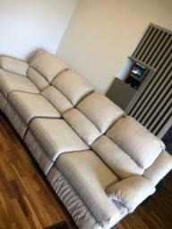 Título do anúncio: Sofá 4 lugares com poltronas reclináveis