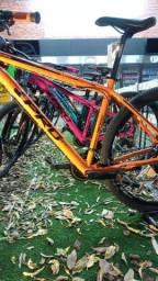 Bikes 29 Alum direto da fábrica, 12x sem juros e capacete de brinde