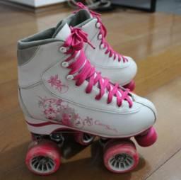 Patins Chico Skate 4 rodas artístico
