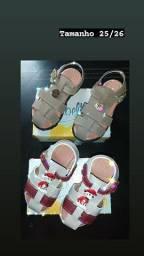 Sandália infantil personalizada
