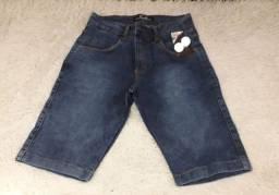 Atacado Bermuda Jeans