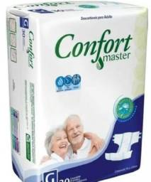 Fraldas Geriátricas Confort Master R$53,00 Unitário Fardo c/4