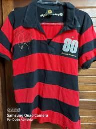 Camisa retrô Flamengo Rondinelli M
