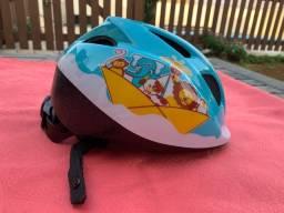 Título do anúncio: Capacete ciclismo infantil