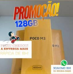 O MENOR PREÇO do BRASIL! POCO M3 128GB / Novo Lacrado Garantia / GLOBAL